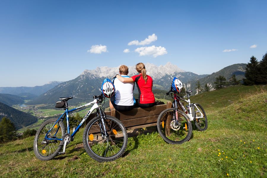 Mountainbiken Fieberbrunn Tirol